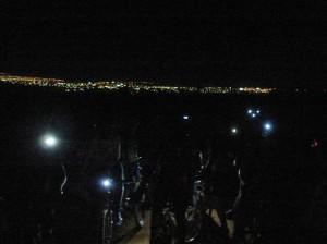 Hoje é dia de pedal noturno