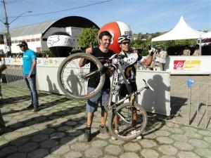 Edivando Souza Cruz venceu na super elite masculina
