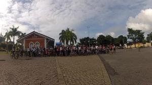 Antiga Estação de Curvelo. Aproximadamente 80 bikers.