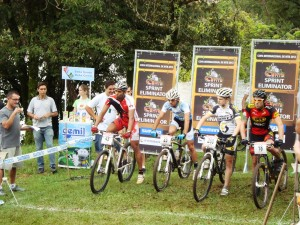 Largada do Sprint Eliminator em 2012