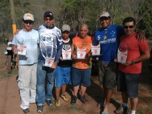 Patenses no 1º Enduro Radical Bike em Uberlândia