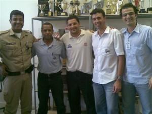 Magela, Pelezinho, Delei, Coelho e Paulo Henrique