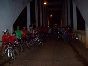 40 pessoas participaram do último pedal noturno. Seremos quantos essa semana?