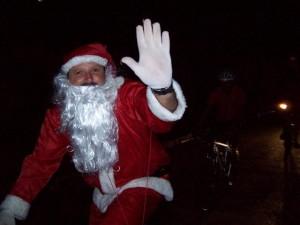 Este é o nosso Papai Noel atleta
