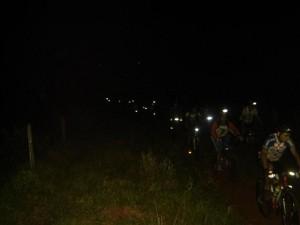 Pedal noturno na Trilha do Boi