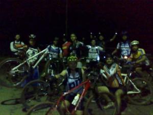 Pedal Noturno 10/12/2009 que ficou na história. Marco Túlio um grande líder