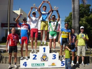 Primeiros colocados na categoria Speed Elite