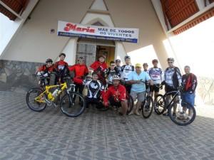 12 bikers preparados para mais uma Romaria