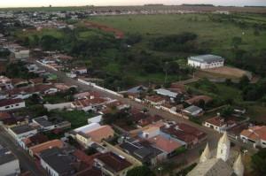 Vista aérea do Parque do Zarico