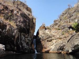 Parte alta da Cachoeira Andorinha