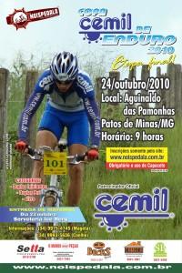 Cartaz da 4ª e última etapa da Copa Cemil 2010