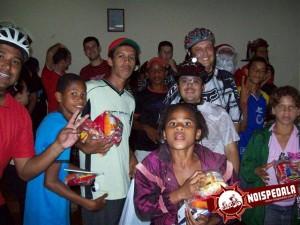 Pedal Solidário de Natal 2009