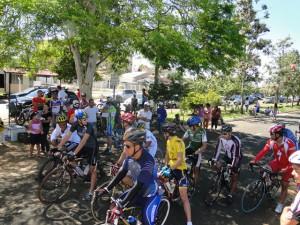 Primeira etapa do Campeonato Patense de Ciclismo 2013