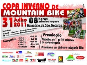 Copa Inverno de Mountain Bike aquece São Gotardo no próximo domingo