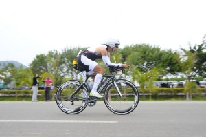 Lucas Couto participou de prova de Ironman 70.3