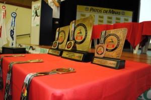 Troféus e medalhas JIMI