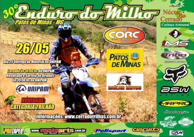 Cartaz do Enduro do Milho