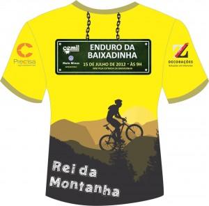 Camiseta de Rei da Montanha