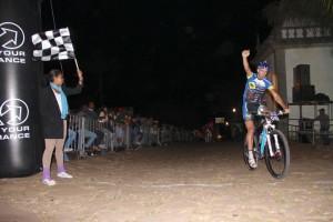 Orlando Alves, o campeão do Desafio Up Hill
