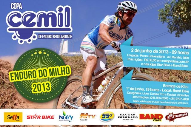 Cartaz Enduro do Milho 2013