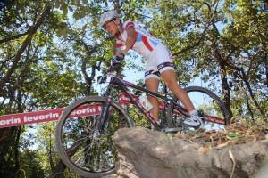 O ciclista baiano Matheus Oliveira.