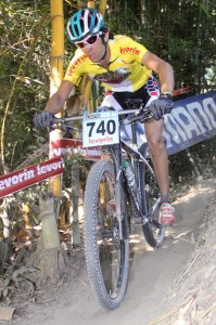 Ciclista Marconi Ribeiro