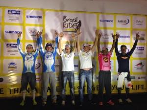 Premiação do segundo estágio da Brasil Ride